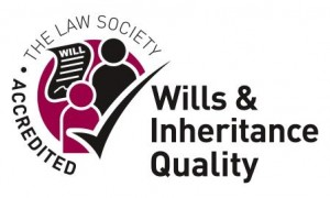 Wills & Probate - Wills and Inheritance Quality: The Law Society Accredited logo