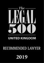 Legal 500, UK recommended lawyer