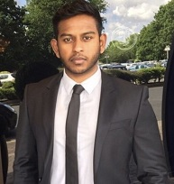 Arjun Sreedaran, rhw Solicitors, Guildford, Surrey