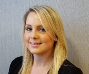Laura Bentley, one of three new employees at Surrey law firm, rhw