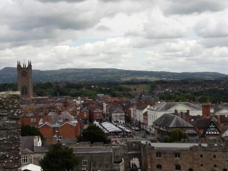 Ludlow, market town in Shropshire