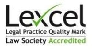 Lexcel Legal Practice Quality Mark - Law Society Accredited