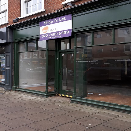 Empty Commercial Property in Guildford
