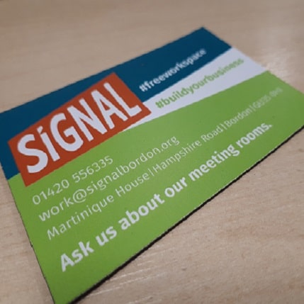 Signal - Ask us about our meeting rooms