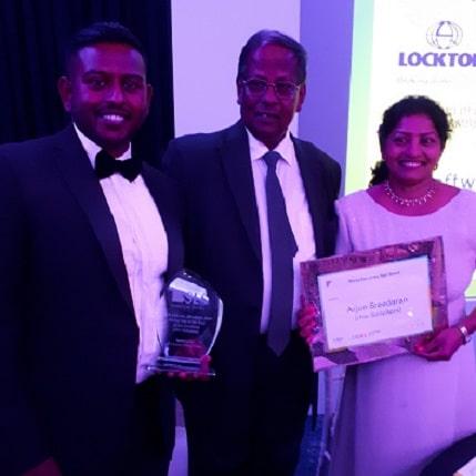 Winners at SLS Legal Awards